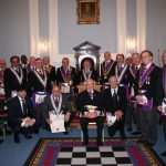 W Bro Chris James, PAGDC, Provincial Junior Grand Warden visits Pro Minimis Lodge  No 1160 – 7th March 2019
