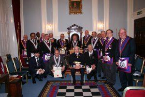 W Bro Chris James, PAGDC, Provincial Junior Grand Warden visits Pro Minimis Lodge  No 1160 – 7th March 2019