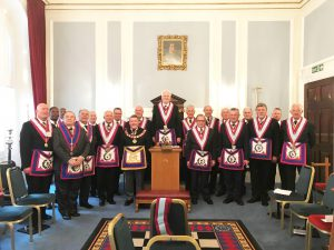 The Reponement of Cenabus Bene Lodge by RW Bro Ryan Williams and the Installation of the new Master, RW Bro David Ashbolt