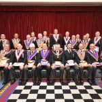 W. Bro. Henry Hobson, Assistant Provincial Grand Master and 12 Provincial Grand Officers visited Irenic lodge on Wednesday the 17th April