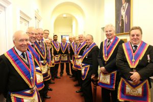 Semper Fidelis Lodge of Mark Master Masons, No. 1473, 4th April 2019