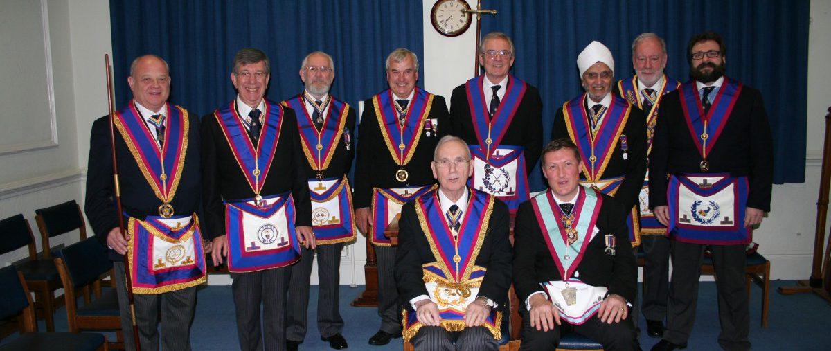 W Bro David James, PGJD, Provincial Grand Senior Warden visits Abernethy Lodge No 569 - 4th April 2019