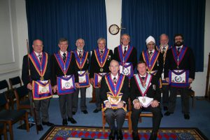 W Bro David James, PGJD, Provincial Grand Senior Warden visits Abernethy Lodge No 569 – 4th April 2019