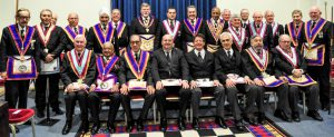 WBro Clifford Sturt APGM PGJD and Delegation attend Britannic Lodge 433 – 12th April 2019