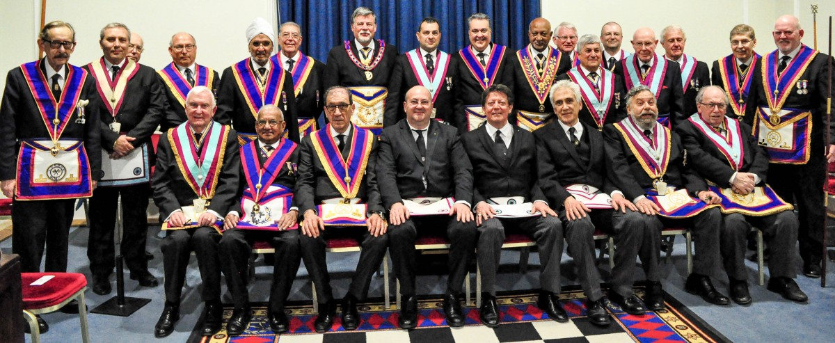 WBro Clifford Sturt APGM PGJD and Delegation attend Britannic Lodge 433 - 12th April 2019