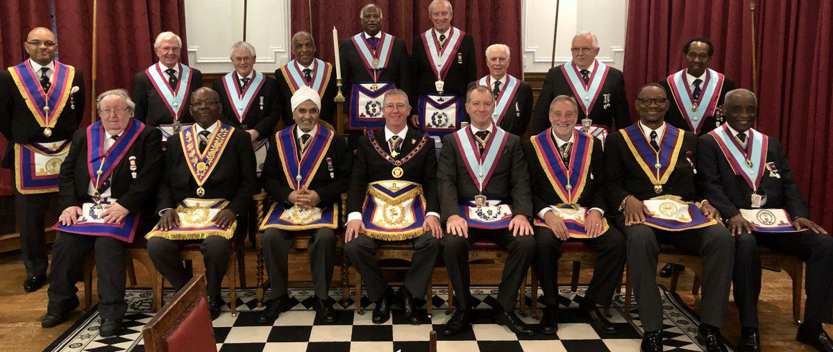 W Bro David Lucas PGJD APGM and a Delegation Visit Epworth Lodge No. 1771 on 24th May 2019
