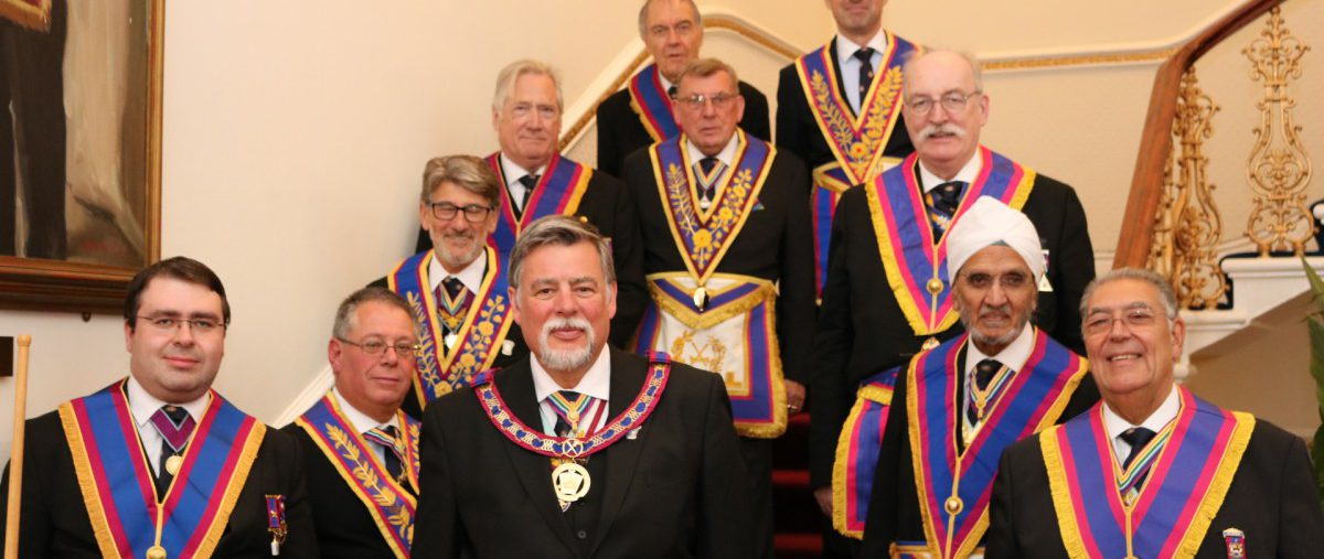Euclid Lodge of Mark Master Masons No 1748 5th. June 2019