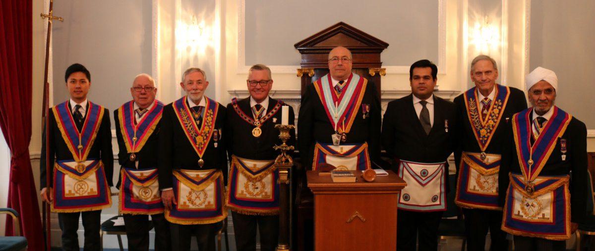 Pickwick Lodge of Mark Master Masons No. 997, 21st June 2019.