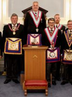 W Bro Clifford Sturt APGM and a Delegation visit Ubique Lodge No. 411 on 24th June 2019
