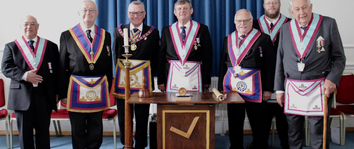 W Bro Henry Hobson APGM visits City Livery Lodge No: 1638 on 26th June 2019
