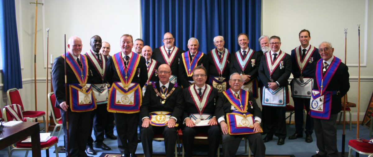 VW Bro Tom Quinn, PGJO, Deputy Provincial Grand Master visits Sanitarian Lodge No 786 - 24th June 2019