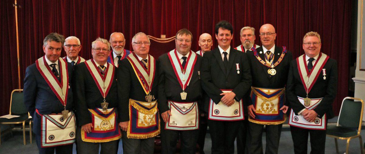 Maguncor Lodge of Mark Master Masons No. 833, 10th July 2019