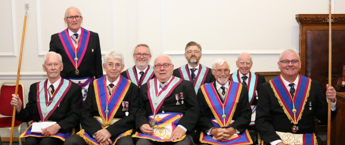 Friendship from Service Mark Lodge No. 1313, 1st July 2019