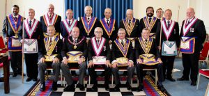 APGM W Bro Tim MacAndrews PGJD and a Delegation Visit Connaught Army and Navy Lodge No: 748 on 10th July 2019