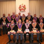 W Bro David James, PJGD, Provincial Senior Grand Warden visits Onslow Lodge No 361 – 2nd July 2019