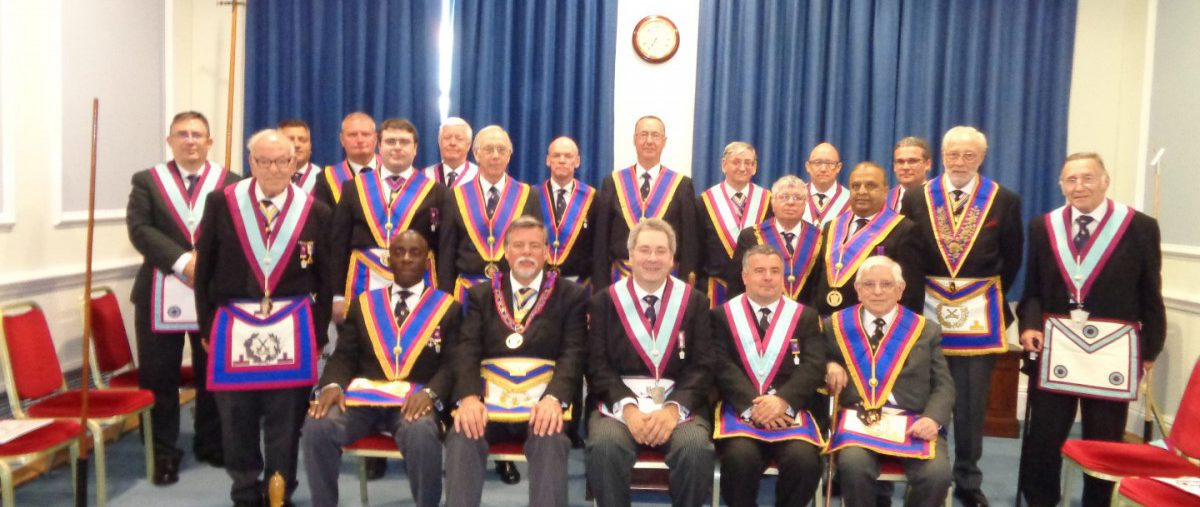 Out in to the big wide world of Delegation. W. Bro. Cliff Sturt APGM together with this year's newly minted crop of ADC's visit Orchestral Lodge on the 2nd September.