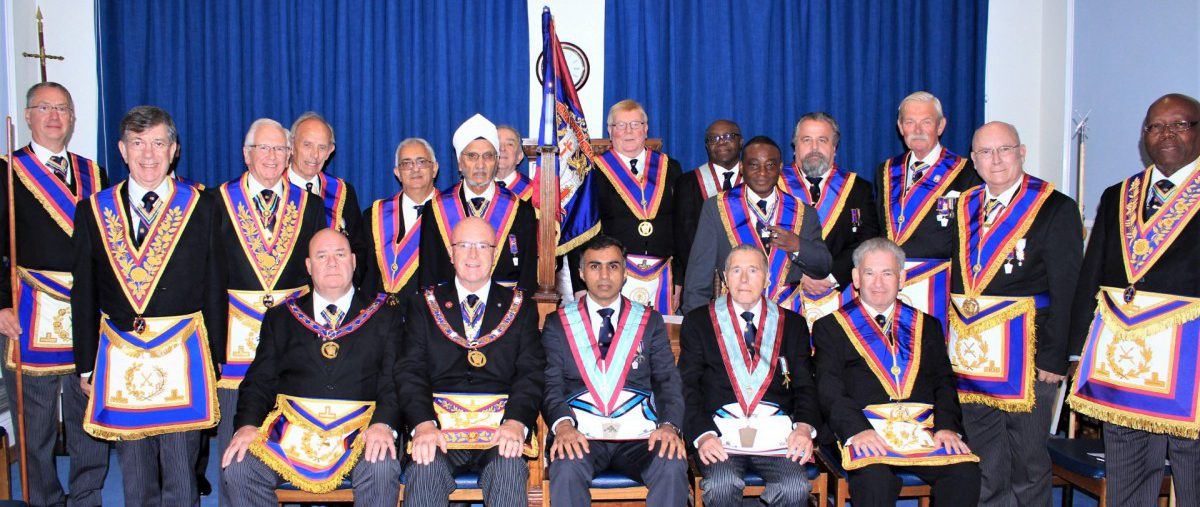 Full Team Visit to Meridian Lodge 936 proves a most enjoyable event