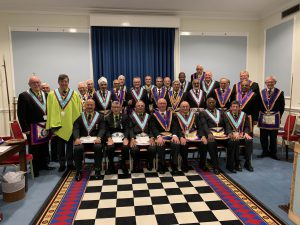 ProvGSW, Gary Munday vists Albatross Lodge accompanied by a Delegation