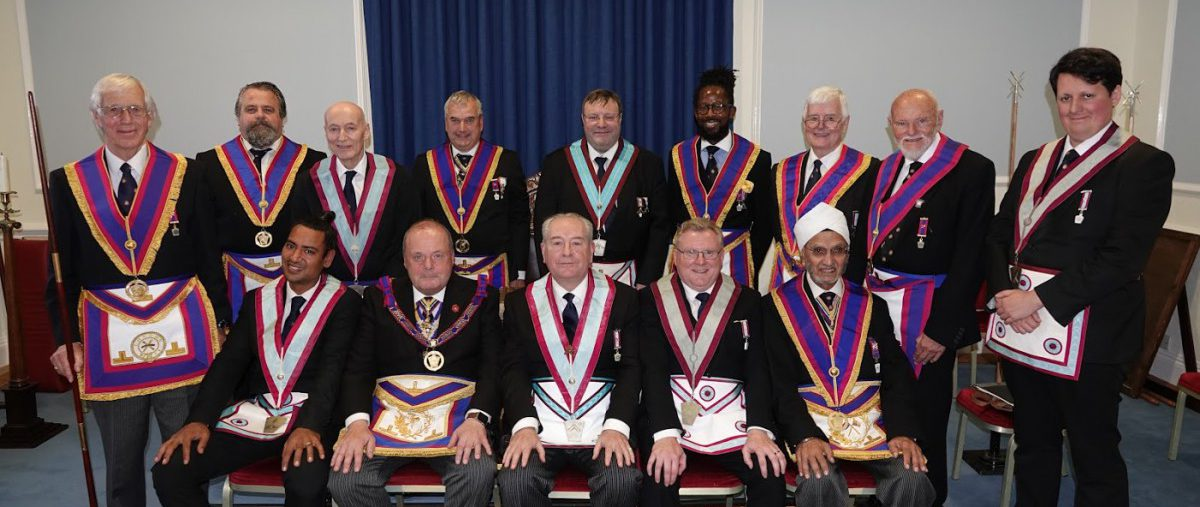 Maguncor Lodge No. 833 welcomed DPGM W Bro Tim MacAndrews PGJD and Delegation on 9th October 2019