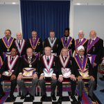 Maguncor Lodge No. 833 welcomed DPGM W Bro Tim MacAndrews PGJD and Delegation on 9th October 2019