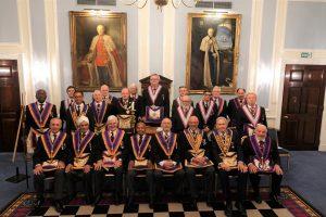 Southwark Lodge No. 22 welcomed DPGM W Bro Tim MacAndrews PGJD and Delegation on 15th October 2019