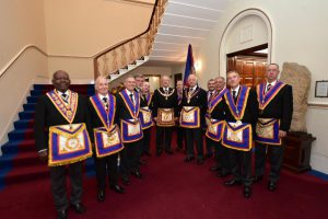 On 17 October Bon Accord Lodge (T.I.) played host to the Provincial Grand Master and a delegation of Active & Past Provincial Grand Offices.
