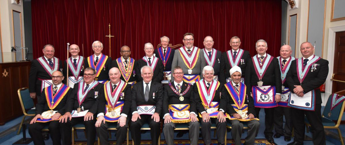 On Thursday the 24th October W. Bro. David Lucas APGM paid an official visit to Thea Sinensis lodge.
