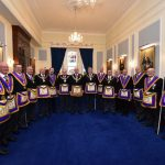 On 31 October the PGM RW. Bro. Tom Quinn fully supported by the most senior Provincial Grand Officers Consecrated Locomotion Lodge
