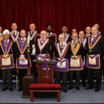 W Bro Robert Anderson, Provincial Grand Secretary and a Delegation visit Friendship from Service Lodge No. 1313 on 9th January 2020