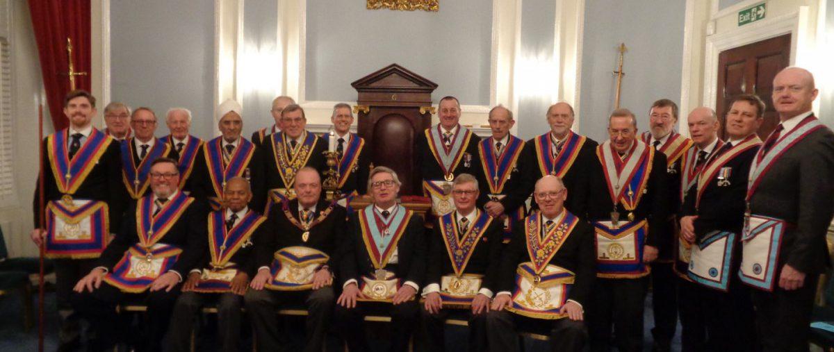 The Deputy Provincal Grand Master visits The Royal Naval Lodge No 239 - Thursday 16th Janurary 2020