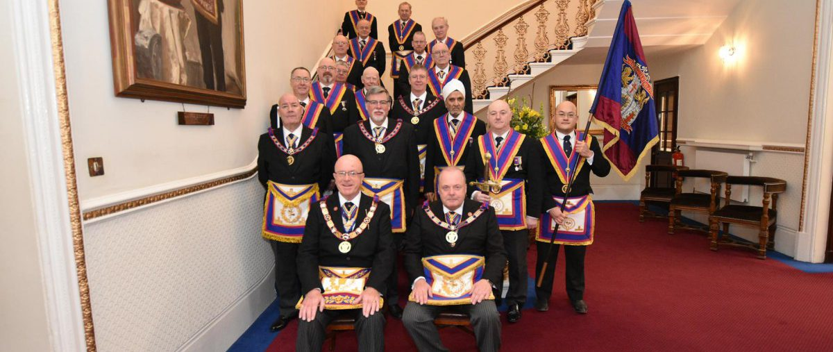 The PGM, RW. Bro. Tom Quinn, leads the first Full Team Visit of the decade to Lodge of Clemency on 11 January 2020 - and what a good meeting it turned out to be.
