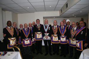 W Bro Clifford Sturt, PGJD, APGM visits Vaudeville Lodge No 801 – Monday 13th January 2020