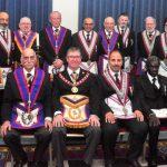 APGM W Bro David Lucas PGJD welcomed by Halcyon Lodge 1118