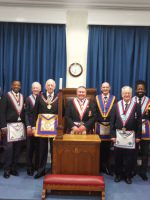 W Bro Wes Hollands APGM, and his Delegation visit Royal Colonial Institute on Friday 13 March 2020