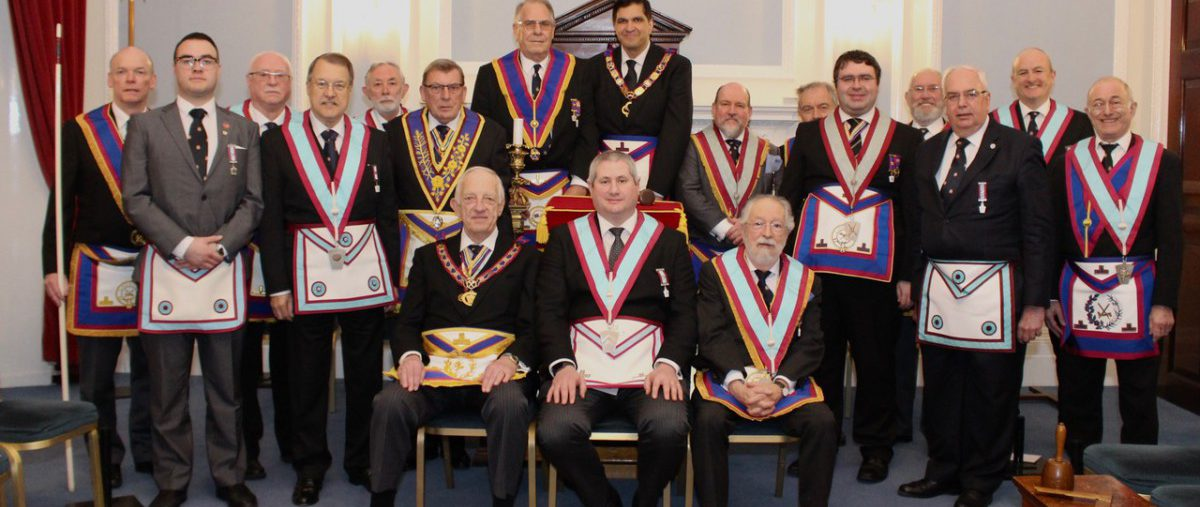 Assistant Provincial Grand Master W Bro Wesley Val Hollands P.G.J.D. and a Delegation visit Savage Club No: 469 on 11 March