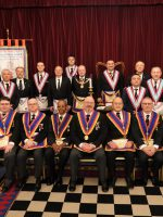 DPGM W. Bro Tim MacAndrews visit to Namik Kemal Lodge No. 2001 on Saturday 15 February 2020