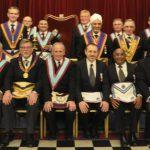 APGM W Bro Cliff Sturt PGJD and Delegation visit Roentgen Portal Lodge 1767 on 12 March