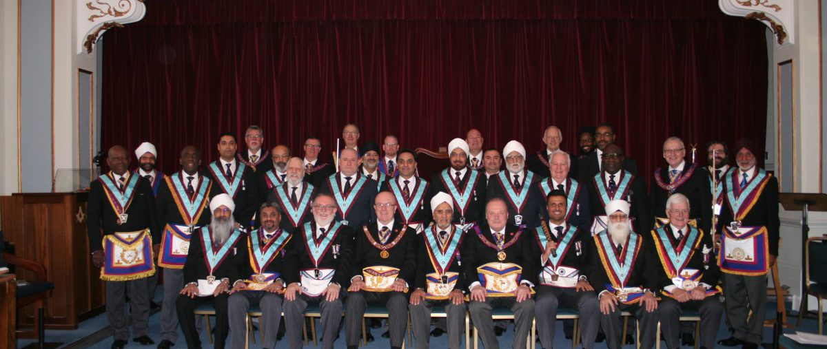 Consecration of Khalsa Lodge No 2022 by RW Bro Tom Quinn, PGM - 7th March 2020