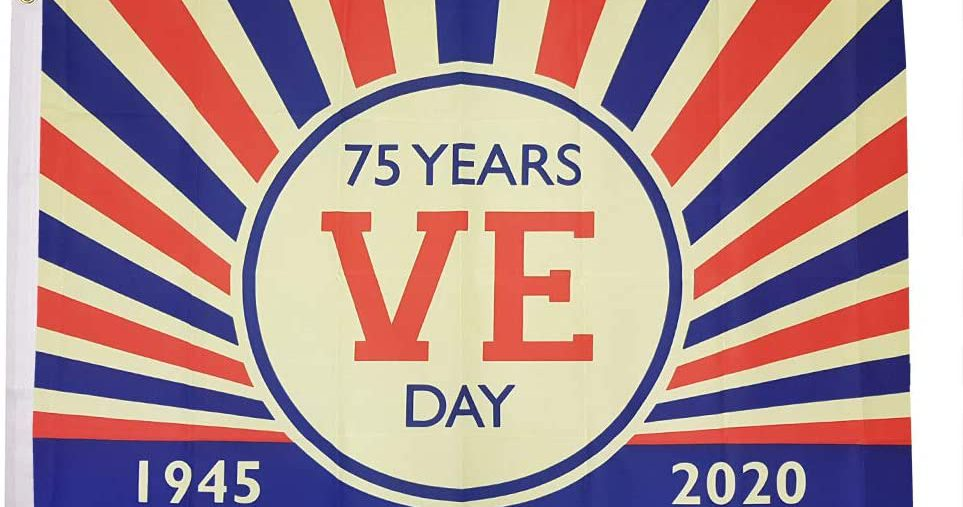 8th May 1945 - 8th May 2020 75th Anniversary of VE Day