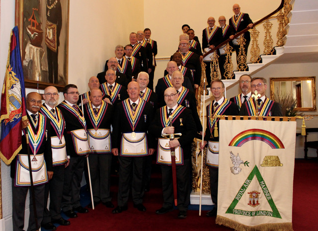 The Provincial Grand Master and a Delegation visit the London Installed Commanders Lodge of Royal Ark Mariners No.1227 on 6 September 2021