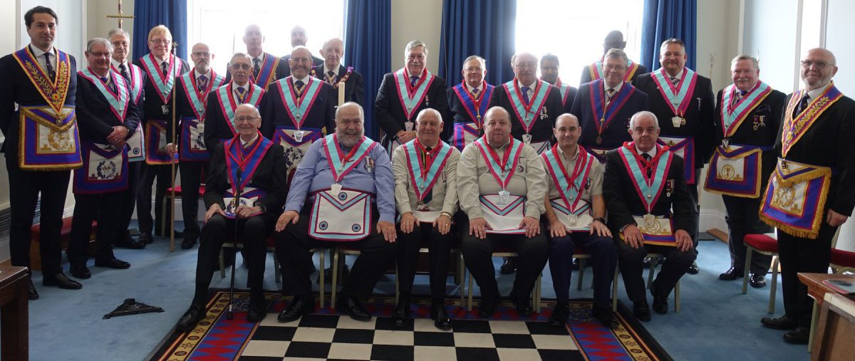 Mark Installation at Ralph Reader with APGM Wes Holland and his Delegation